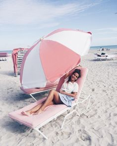 Light Pink ⛱ #miami #collageontheroad  (en South Beach Miami)
