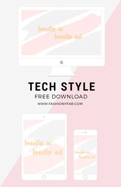 Download this breathe wallpaper freebie on the blog today and remember to relax each time you are feeling overwhlemed. Available for all your devices.