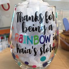 """Thanks for the kind words! ★★★★★ """"Our daughters nurses LOVED this glass and so did I! I'm going to order gifts from this shop ALL THE TIME!! And it was SO fast! I wish I could give this shop ten stars!!!"""" sdkate00 http://etsy.me/2DMgj03 #etsy #accessories #nolagirldesi"""