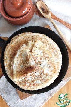 Блины на сыворотке тонкие с секретами - кулинарный рецепт от Анастасии АГ
