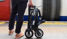 合体ロボみたいな自転車「A-bike」に電動アシスト版の「A-Bike Electric」登場!―折り畳んで電車やバスに持ち込める - えん乗り