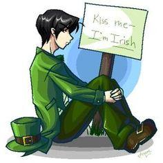 Luck of the Irish Artemis Fowl Fan Art , I would kiss him.