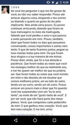 O melhor 😍 Happy Love, Love You, My Love, Couple Quotes, Love Quotes, Sad Texts, Tumblr Love, Love Text, Instagram Blog
