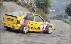 Opel Kadett GSi Rally John Collins, Rally Raid, Gm Car, Rear Wheel Drive, Car Manufacturers, Carrera, Cool Cars, Race Cars, Porsche