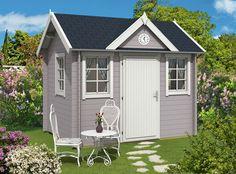 Clockhouse Gartenhaus Modell Mia-28. http://www.gartenhaus-gmbh.de/
