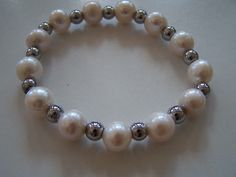 perły i hematyt / pearls and hematite stone