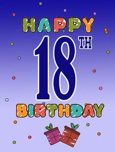 Happy 18th Birthday 2-Sided Garden Flag