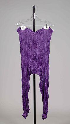 Evening trousers Fortuny (Italian, founded 1906) Designer: Mariano Fortuny (Spanish, Granada 1871–1949 Venice) Date: ca. 1930 Culture: Italian Medium: Silk