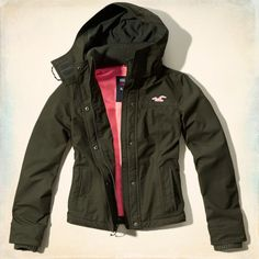 The Hollister All-Weather Jacket