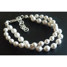 Perlenarmband 925 Silber Brautschmuck
