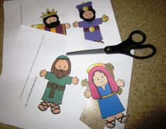 nativity printable free | found these great free printables at MakingFriends.com . I thought ...