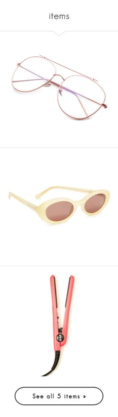 """items"" by eunice129 ❤ liked on Polyvore featuring accessories, eyewear, sunglasses, gold, gold vintage glasses, anti glare sunglasses, vintage 80s sunglasses, ray ban sunglasses, gold sunglasses and eyeglasses"