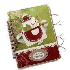 Recipe Book Customized Handmade Christmas by PreciousLifeMoments