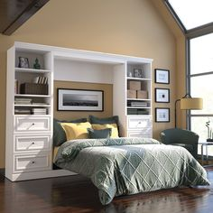 Versatile Full Storage Wall Bed