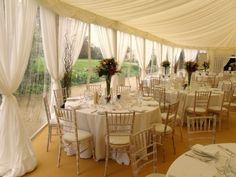 Lovely wedding with Chivari lime washed chairs now available for hire from http://devonvintagechina.co.uk