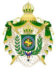 Grande Brasão de Armas do Brasil - Coat of arms of the Empire of Brazil.svg