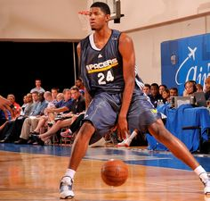 Paul George in 2010 Summer League #NBA #Pacers