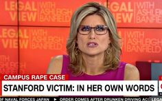 CNN's Ashleigh Banfield struggles to get through the emotional reading in an unprecedented broadcast moment  VIDEO