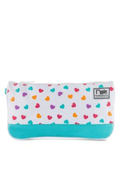 Buy Ripples Hearts Print Pouch  fed2cfd0f5cd2