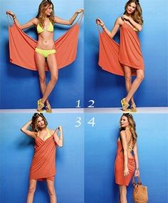 Bikini Wrap Dress - 10 Colors Available - Save 63% Just $15