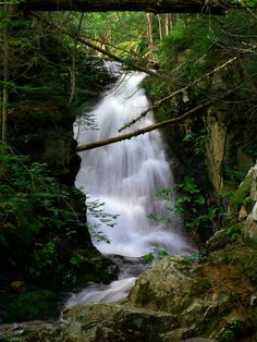 Beechers Cascades in Crawford Notch, New Hampshire, courtesy Windwalker Photography.