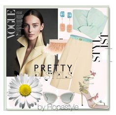 """""""Butter"""" by ropastyle ❤ liked on Polyvore featuring BCBGMAXAZRIA, Ross-Simons, Dita, Delpozo, 3.1 Phillip Lim and Tory Burch"""