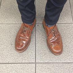 2017/07/12 21:26:06 masayaszk 久しぶりのウイスキーコードバンLWB。 I wear Alden whiskey shellcordovan LWB. #alden #オールデン #足もと倶楽部 #leathershoes #horween #shellcordovan #fashion #kicks #todayskicks #Tokyo #KOTD #aldenarmy #YOLO #tagsforlike #tflers #instagood #instadiary #instalike #instapic #instaphoto #madeinusa #leathergoods #shoestagram #instashoes #shoeporn