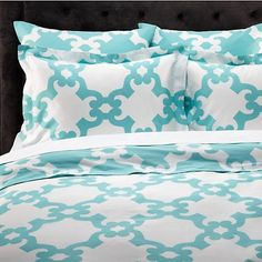 Montecito Bedding - Aquamarine | Bedding | Bedding-and-pillows | Z Gallerie