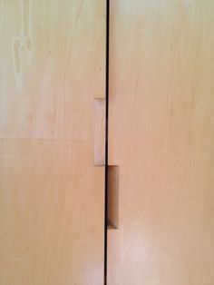 Plywood Joinery On Pinterest Joinery Plywood And Wood: fingertip design kitchen door handles