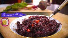 Beetroot Halwa - in Tamil - Sweet & Simple Delicious Desserts, Dessert Recipes, Beetroot, Steak, Simple, Food, Desert Recipes, Meals, Pastries Recipes