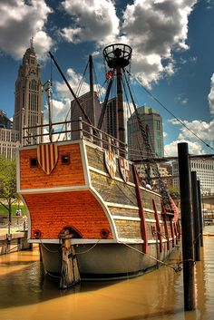 Santa Maria Replica ship in Columbus, Ohio