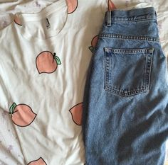 shirt tumblr aesthetic peach pattern