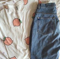 shirt tumblr aesthetic peach pattern