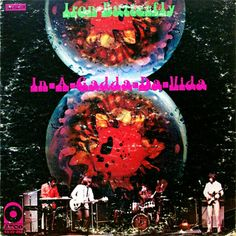 ☮ American Hippie Psychedelic Rock Music Album Cover Art ~ Iron Butterfly