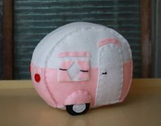 Make this adorable plush vintage camper. http://www.littlevintagetrailer.com/shop