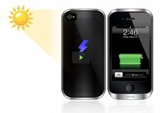 A mobile case that makes use of the most elusive energy source (the sun!) to protect and charge your phone while it's in use, increasing device life by up to 50% #phone #charger #solar #power #technology #SanDiego
