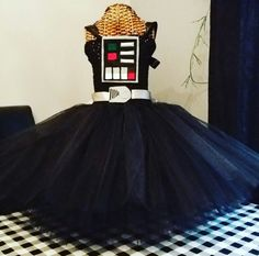 Items similar to Darth tutu dress on Etsy Tutu, Bliss, My Etsy Shop, Trending Outfits, Unique Jewelry, Handmade Gifts, Skirts, Check, Clothes