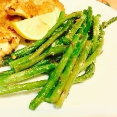 Parmesan Garlic Baked Asparagus - Powered by @ultimaterecipe