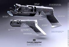 Oblivion gun concept