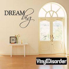 Wall Decal Dream Big