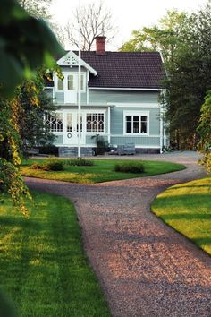 [en kväll i maj] Swedish Cottage, Swedish House, Exterior Remodel, Scandinavian Home, House Goals, Outdoor Gardens, Outdoor Patios, Outdoor Rooms, Home Interior