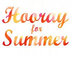 Hooray for Summer / Samantha Hahn