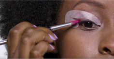 Beth Bender Beauty Eye Candy Stencils Review | POPSUGAR Beauty Make Up For Dummies, Diy Beauty, Beauty Hacks, Eyeliner Stencil, Eye Makeup, Hair Makeup, Beauty Tips And Secrets, Perfect Cat Eye