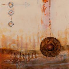 Pam Nichols encaustic art