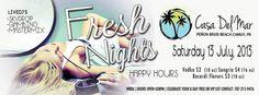 Fresh Nights @ Casa Del Mar, Playa Peñón Brusi, Camuy #sondeaquipr #freshnights #casadelmar #camuy #playapenonbrusi