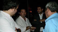 Marcos Cleri acompañó a Martín Calori en la inauguración de obras en Oliveros