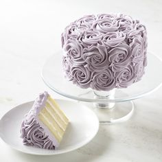 Lavender Rose Cake $60