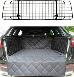 Mesh Dog Guard Quilted Boot Liner For Peugeot 108 208 2008 308 Kia Sportage, Peugeot, Toyota Avensis, Liner, Audi A4, Quilting Designs, Ebay, Pet Stuff, Pets