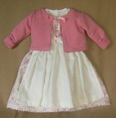 Barett aus Baumwolle Taufbekleidung Tunika Taufanzug  // Taufkleid- Hose !