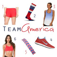 4th of July // Patriotic Running and Activewear